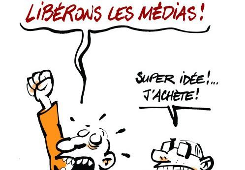 Pour que vive la liberté d'expression et mille médias indépendants !