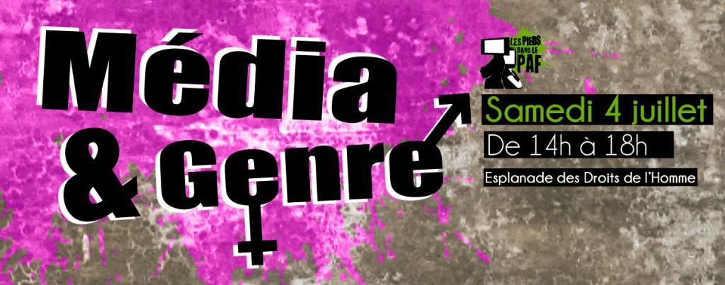 Media et genre bandeau