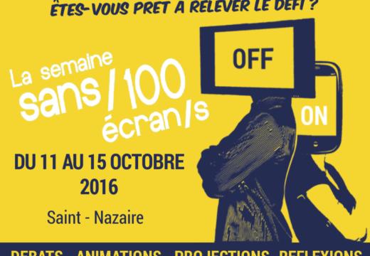 La Semaine Sans/100 Écran/s arrive à Saint-Nazaire !