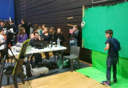 Atelier d'incrustation vidéo sur fond vert