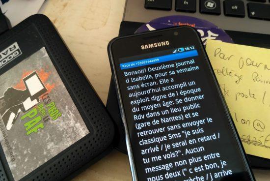 SSE18: Suivez les cobayes du Sevrage numérique!
